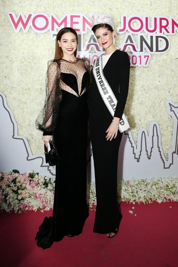 Hồ Ngọc Hà 2 lần đọ sắc Hoa hậu Thái Lan: Không chặt được ai-9