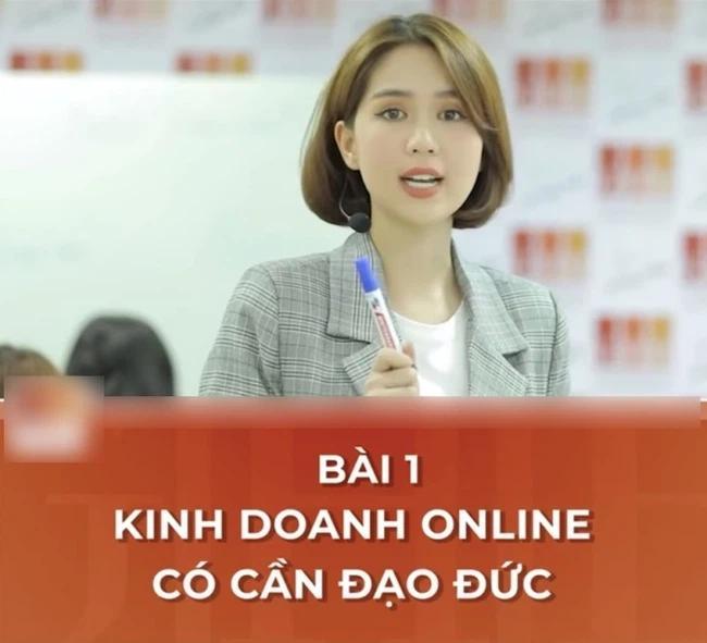 Ngọc Trinh giảng dạy kinh doanh online, nào ngờ bị mỉa mai quá khứ-1