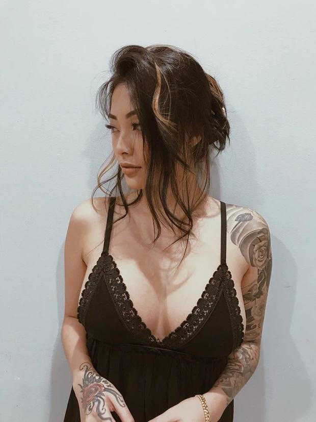 Cassie Trinh Võ - bồ cũ Binz sở hữu loạt hình xăm độc nhất vô nhị-9