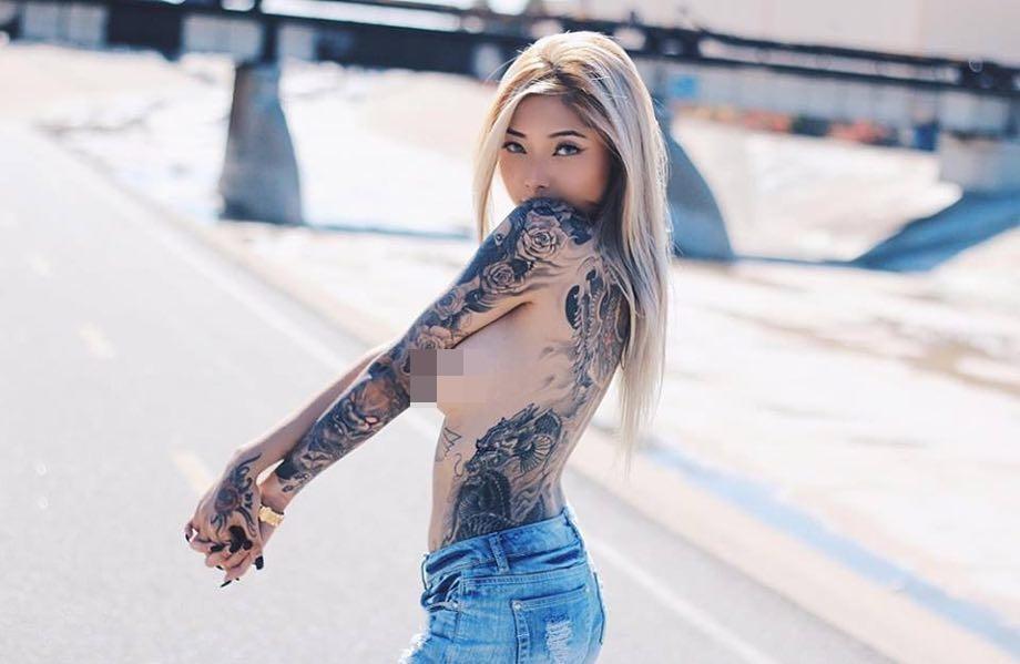 Cassie Trinh Võ - bồ cũ Binz thích phơi ngực trần, Ngân 98 thua xa-11