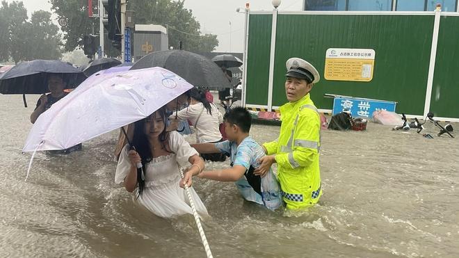 Con số kỷ lục về cơn mưa nghìn năm có một ở Trung Quốc-1
