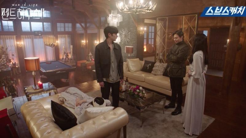 Cảnh quay lỗi Penthouse: Uhm Ki Joon hôn chị đẹp xong quên luôn thoại-1
