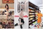 Sao Việt khoe tủ đồ hàng hiệu đắt ngang căn penthouse