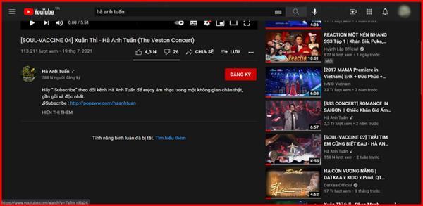 Vì sao Hà Anh Tuấn tắt chức năng bình luận trên Youtube?-2