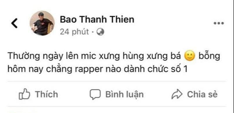 Câu hỏi rapper số 1 Việt Nam vẫn bỏ ngỏ, B Ray chốt liền một câu-2