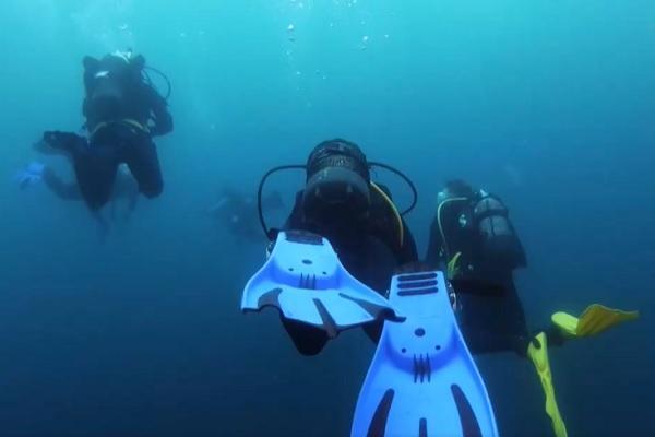 Lặn ngắm xác tàu đắm từ 2.500 năm trước