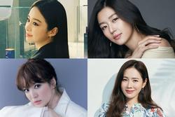 Tứ đại mỹ nhân Kbiz thuở đôi mươi: Song Hye Kyo kém sắc nhất