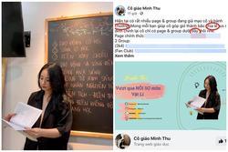 Lên bài kêu gọi dân mạng ủng hộ, cô giáo Minh Thu viết sai 3 lỗi chính tả
