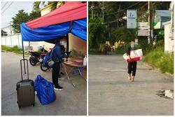 Hai bạn trẻ đi bộ từ TP.HCM về Huế, đến Đồng Nai được tặng vé tàu