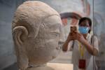 Cánh đồng kỳ lạ chứa 42 tượng bán thân các đời Tổng thống Mỹ-5