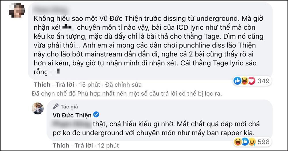 Rhymastic bị tố nhận xét không chuyên môn, riêng Richchoi quay xe chọn Tage thay vì ICD-4