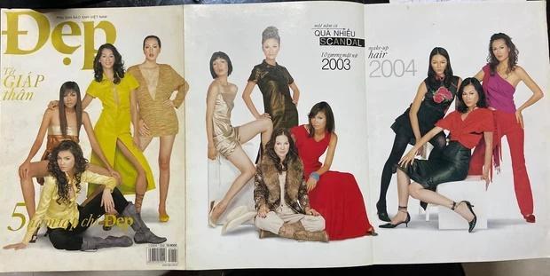 Mém không nhận ra Hà Hồ - Thanh Hằng trên bìa tạp chí 20 năm trước-1