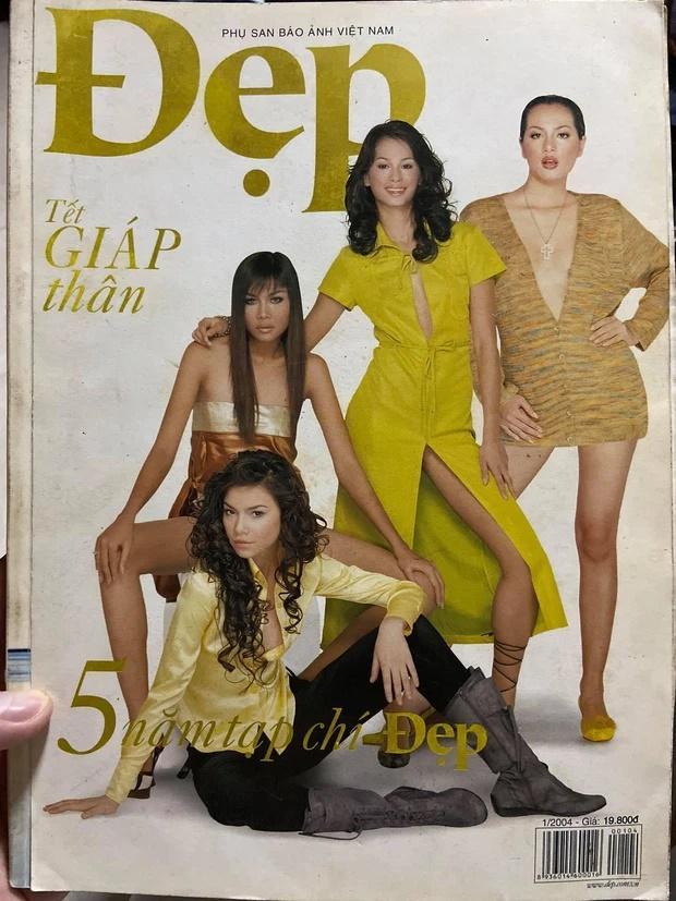Mém không nhận ra Hà Hồ - Thanh Hằng trên bìa tạp chí 20 năm trước-2