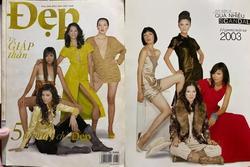 Mém không nhận ra Hà Hồ - Thanh Hằng trên bìa tạp chí 20 năm trước