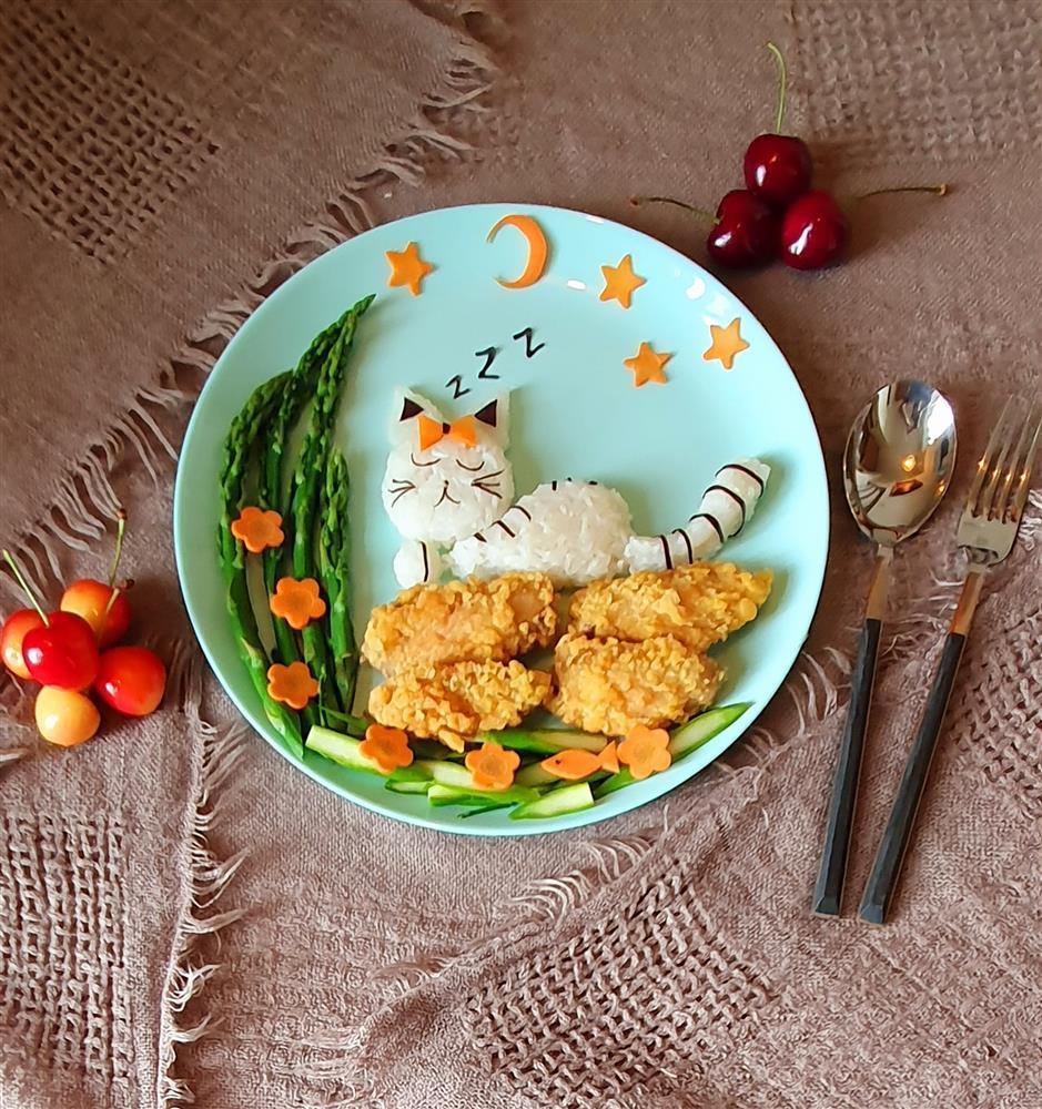 Bày đồ ăn đẹp như tranh vẽ, cho vào miệng rồi lại chẳng nỡ nhai-7
