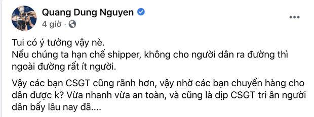Dũng Khùng và loạt sao Việt khóa Facebook sau ý tưởng CSGT ship hàng-2