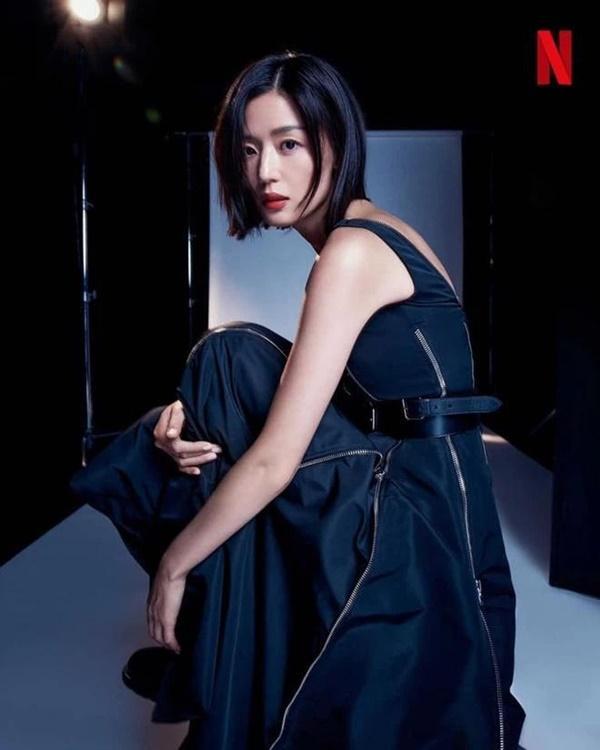 Vai diễn gần như không thoại, vật vờ như một cái bóng của Jeon Ji Hyun-5