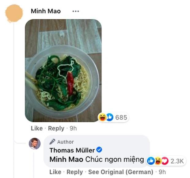 Fan Việt khoe tô mì ăn dở dưới bài đăng siêu sao quốc tế, ai ngờ được rep comment!-2