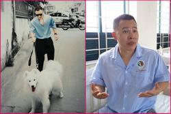 Dắt chó đi dạo, Vũ Khắc Tiệp 'nhảy đổng' khi bị dọa báo công an