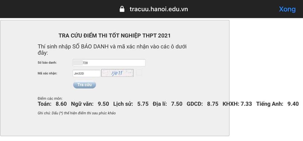 Profile khủng trai đẹp Hà Nội đạt 9,5 điểm môn Ngữ Văn-2