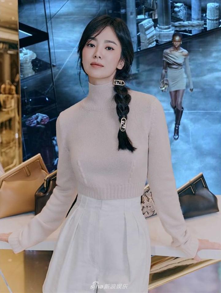 Song Hye Kyo đẹp ngỡ ngàng tuổi 40, không hổ quốc bảo nhan sắc-2