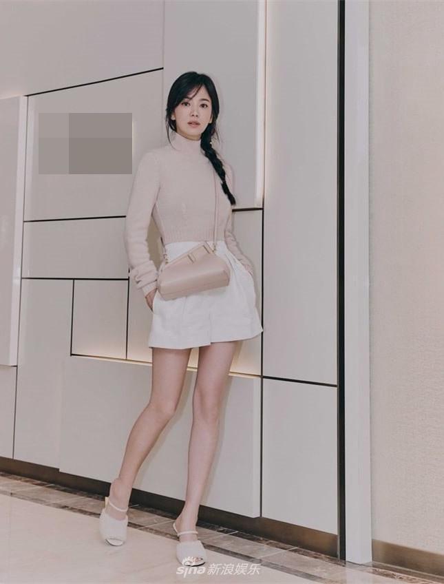 Song Hye Kyo đẹp ngỡ ngàng tuổi 40, không hổ quốc bảo nhan sắc-4