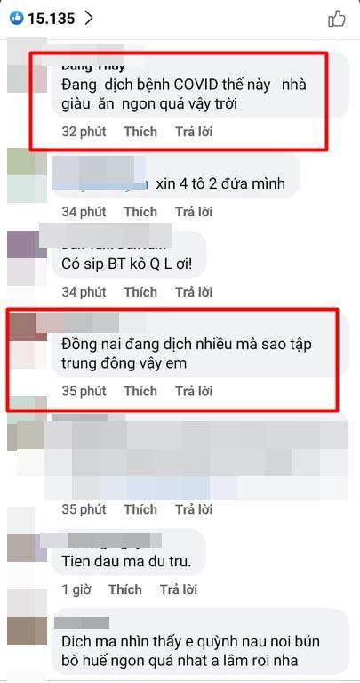 Lê Dương Bảo Lâm bị chỉ trích vì tụ tập ăn bún bò mùa dịch-5