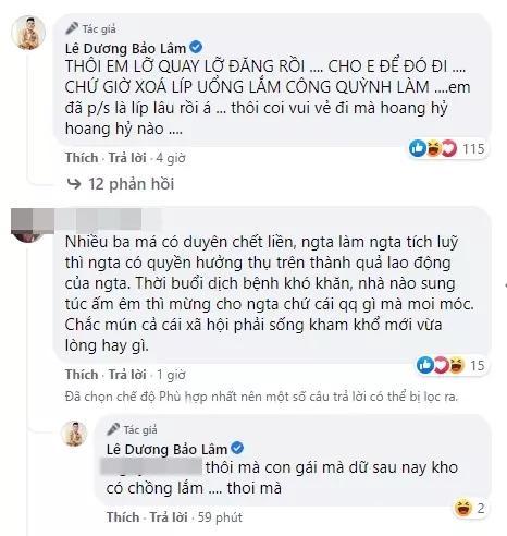 Lê Dương Bảo Lâm bị chỉ trích vì tụ tập ăn bún bò mùa dịch-10