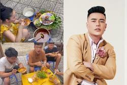 Lê Dương Bảo Lâm bị chỉ trích vì tụ tập ăn bún bò mùa dịch
