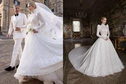 Ảnh cưới hoàng gia của cháu gái Công nương Diana và hôn phu hơn 32 tuổi