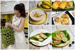 Nghỉ dịch rảnh quá, 9x Sài Gòn 'hô biến' nghìn món ngon từ chuối