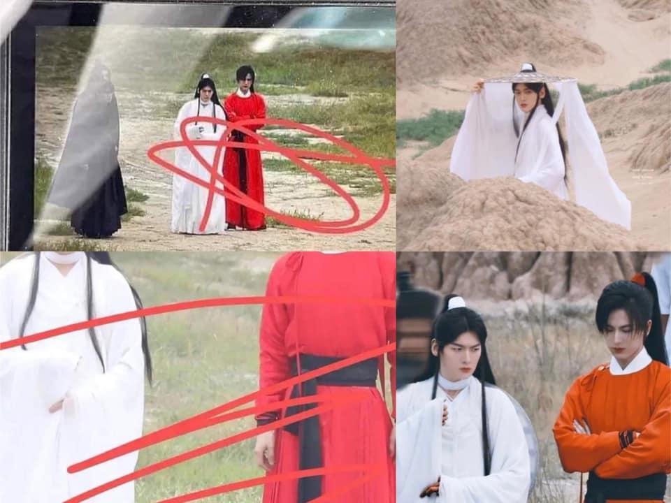 Người hâm mộ ngán ngẩm ảnh hậu trường đam mỹ Thiên Quan Tứ Phúc-5