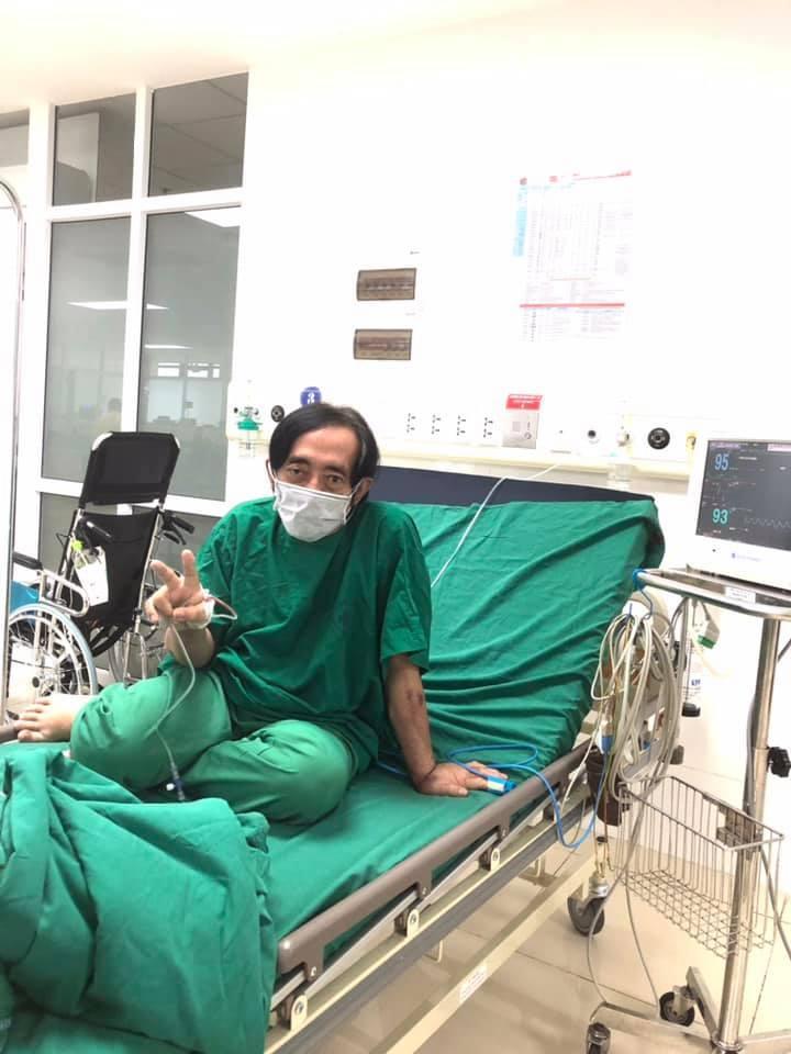 Giang Còi đính chính khi bị nghi nằm tại Bệnh viện Phổi Hà Nội-1