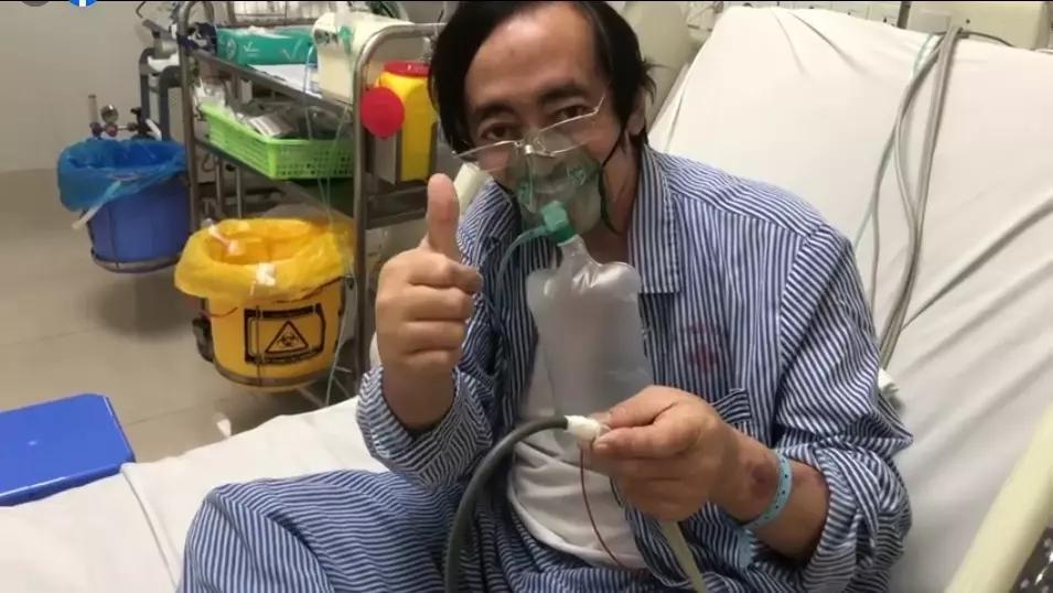 Giang Còi đính chính khi bị nghi nằm tại Bệnh viện Phổi Hà Nội-2