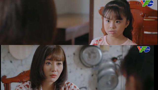 Mùa Hoa Tìm Lại tập 27: Bé Ngân sợ Lệ thành bà mẹ kế ác độc-3