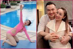 Vợ sắp cưới kém 16 tuổi của Chi Bảo mặc bikini khoe bụng bầu