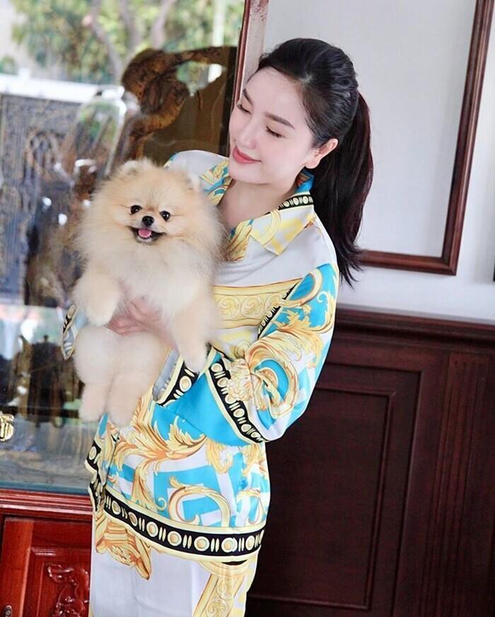 Hà Hồ, Lệ Quyên mặc đồ ngủ pyjama thôi mà nhìn giá phát hoảng-7