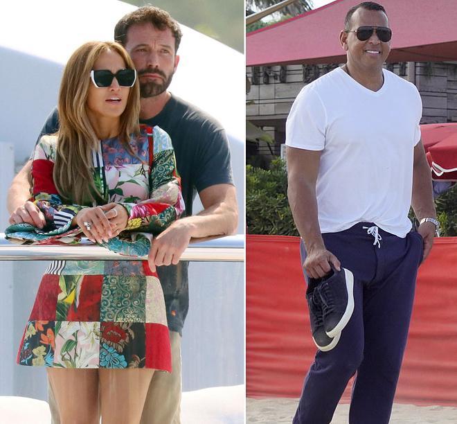 Tình mới và tình cũ của Jennifer Lopez suýt chạm trán-1