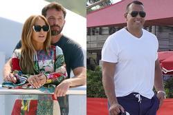 Tình mới và tình cũ của Jennifer Lopez suýt chạm trán