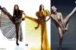 Cùng pose dáng 'xoạc rộng ra': Hà Hồ sang chảnh - Thu Minh kém duyên