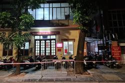 Hà Nội phong tỏa tạm thời trụ sở Công an phường Lê Đại Hành