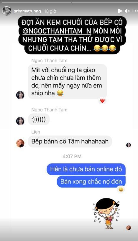 Primmy Trương trách móc bạn thân Ngọc Thanh Tâm, chuyện gì đây?-1