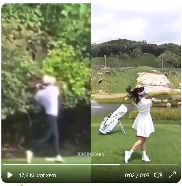 Thời trang golf hack tuổi, ton-sur-ton của Hyun Bin - Son Ye Jin-10