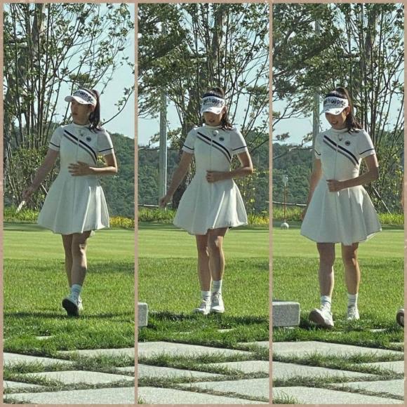 Thời trang golf hack tuổi, ton-sur-ton của Hyun Bin - Son Ye Jin-6