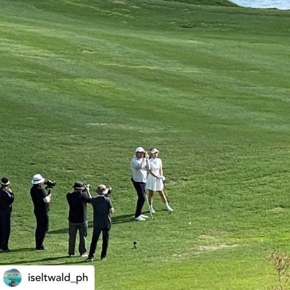 Thời trang golf hack tuổi, ton-sur-ton của Hyun Bin - Son Ye Jin-7