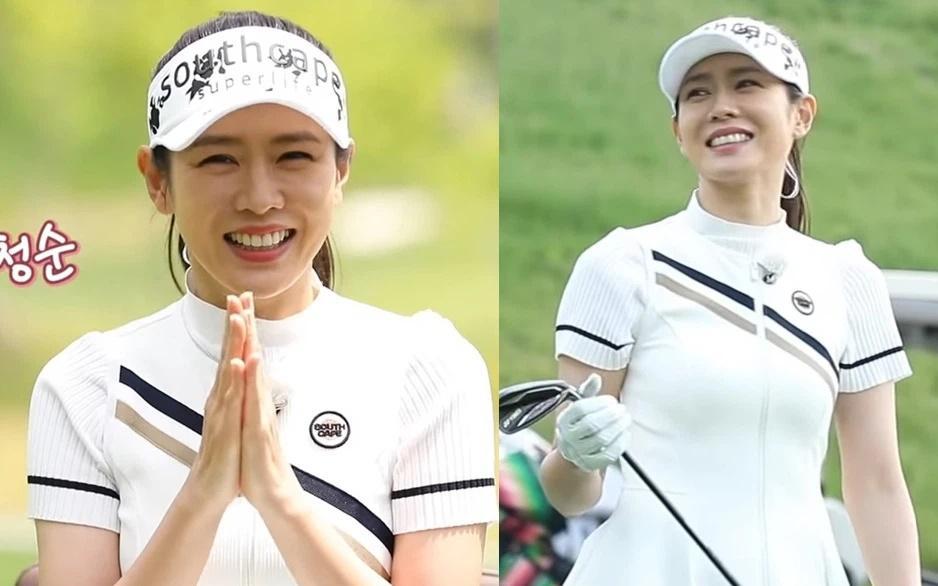 Thời trang golf hack tuổi, ton-sur-ton của Hyun Bin - Son Ye Jin-3