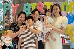 Bà nội quyền lực mừng sinh nhật con gái Cường Đô La 1 tuổi