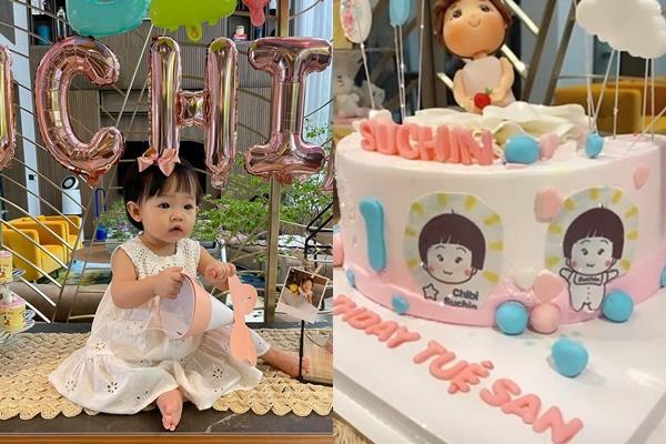 Con gái tròn 1 tuổi, Cường Đô La mới tiết lộ tên thật bé Suchin-3