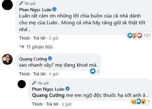 Mẹ Phan Ngọc Luân đột ngột qua đời vì ngộ độc thuốc hạ sốt-3