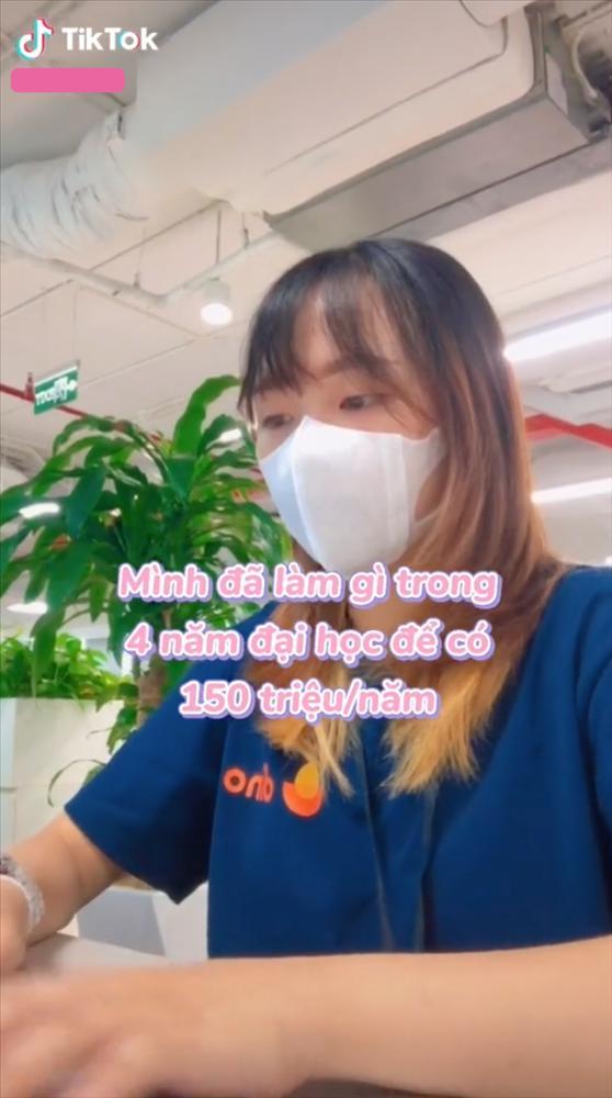 Khoe thu nhập 150 triệu/năm dù đang đi học, cô gái khiến netizen trầm trồ-1